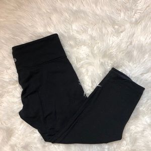 Lululemon Womens Reversible Crop Leggings Size 8